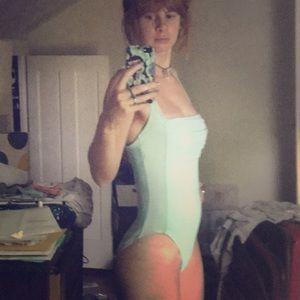 Calvin Klein one piece swim suit